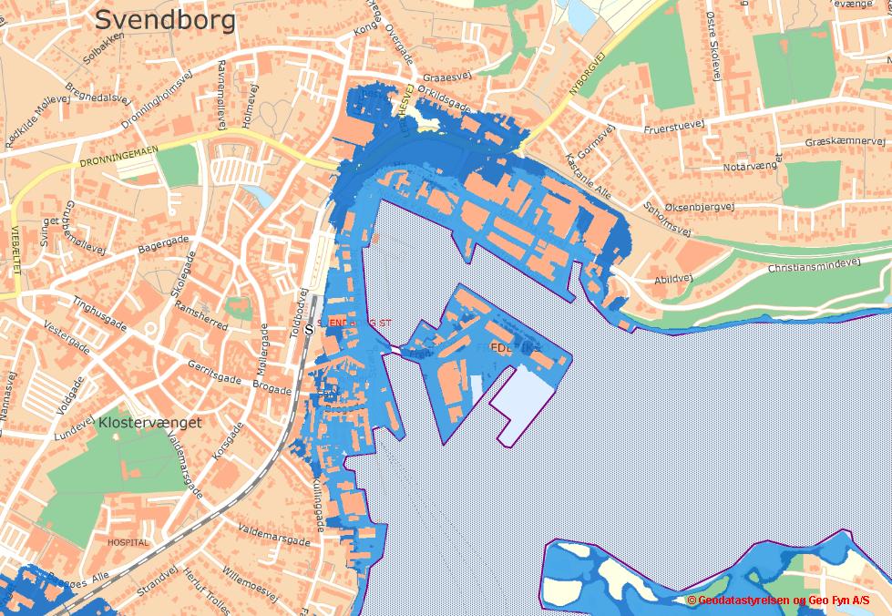 Den Blå Kant - Klimatilpasning | Fremtidens Havn