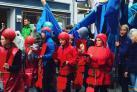 Paraden Fortællinger om Havet af Sydfyns Kulturforening støttet af Bylivspuljen