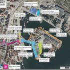 Svendborg Havn byggeprojekter oversigtskort