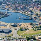 Luftfoto 2020 Svendborg Havn