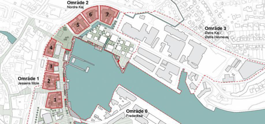 Kort over byggegrunde