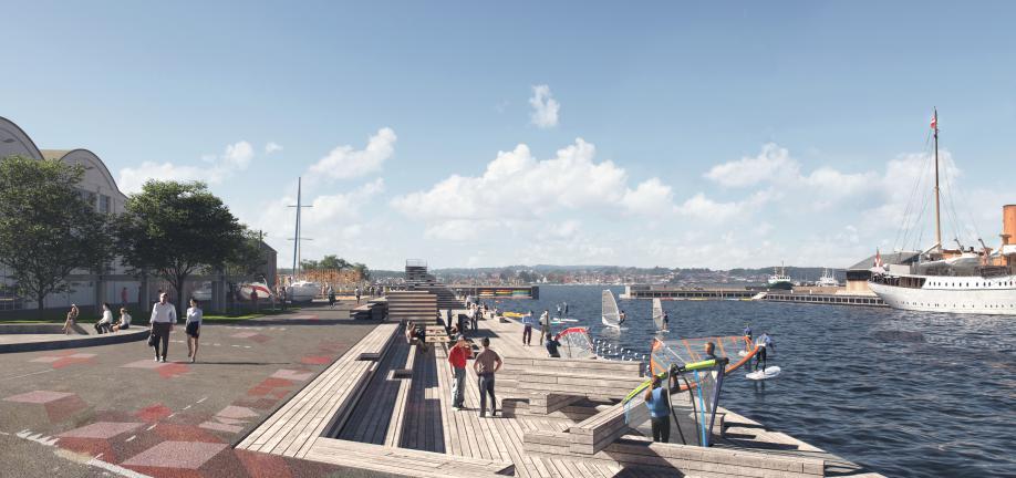 Svendborg Havn, Havnebad