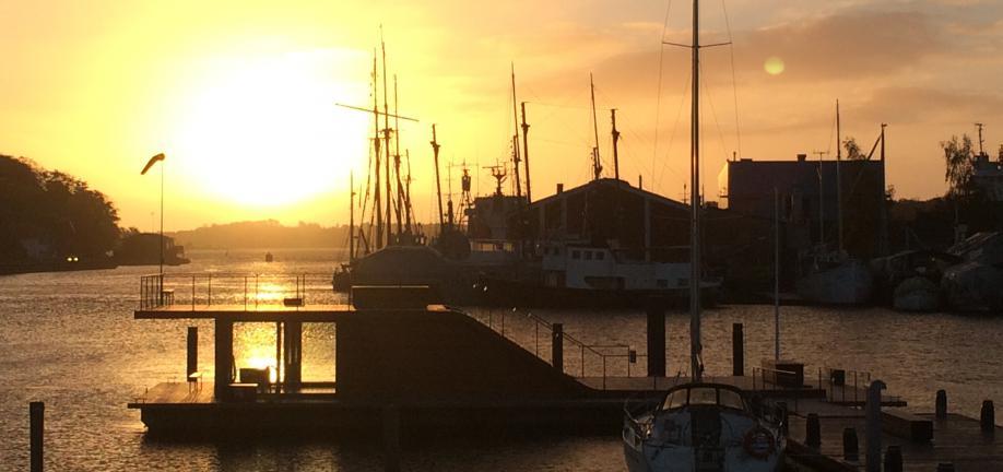 Bølgen i Svendborg Havn