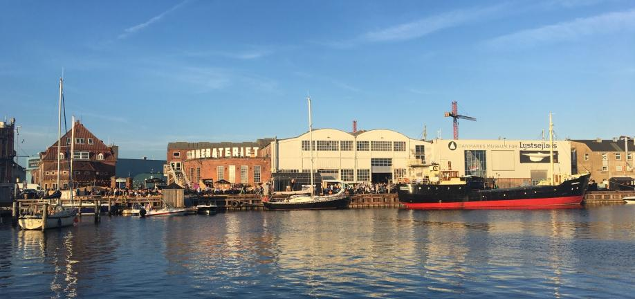 Foto af Frederiksø set fra Honnørkajen